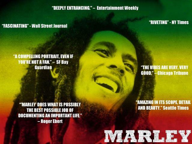 Reviews Bob Marley movie