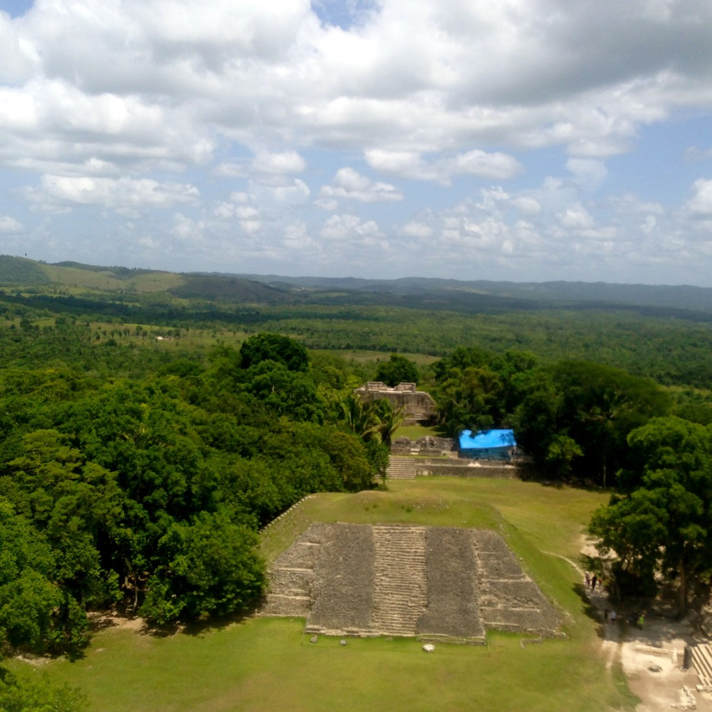 Xunantunich- View from the top